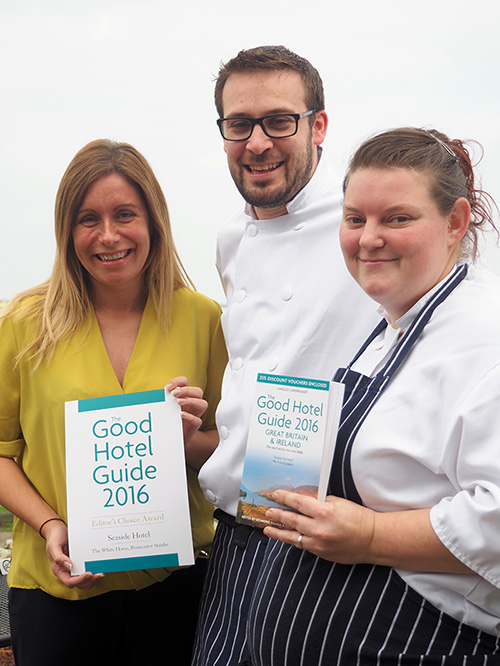Editor's Choice for second year running  in The Good Hotel Guide 2016