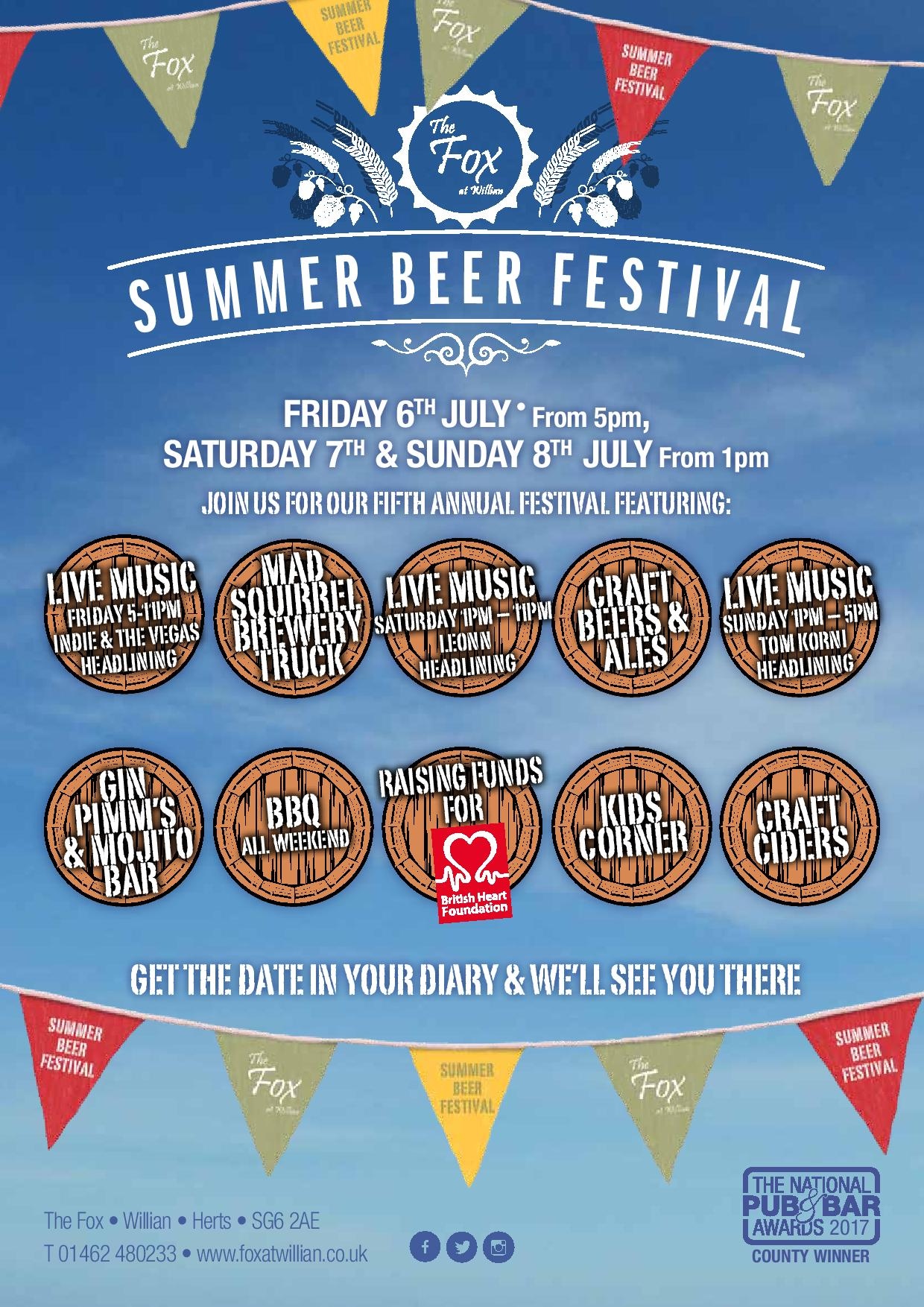 Our Summer Beer Festival