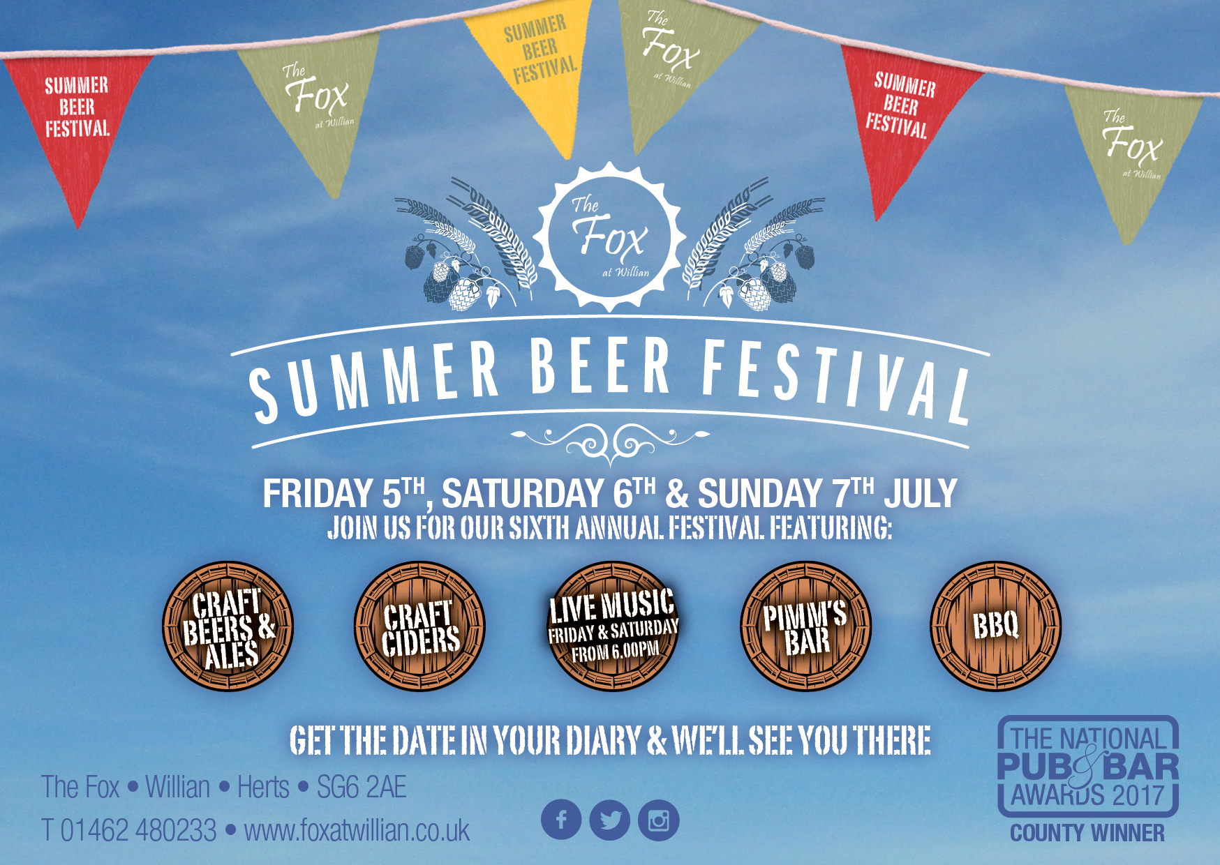 The 6th Annual Fox Summer Beer festival