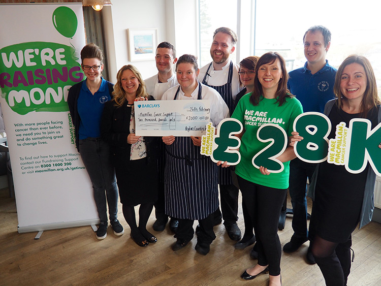 Local Inn group raise over £28,000 for Macmillan