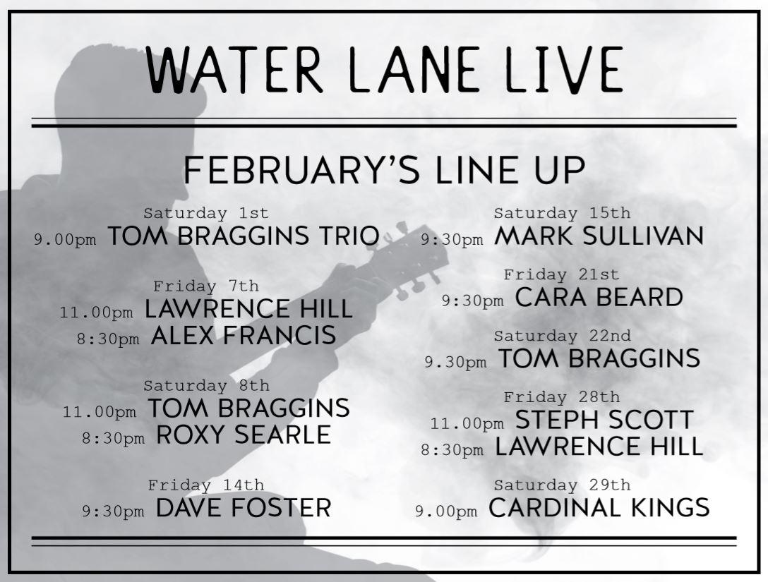February's Live Music
