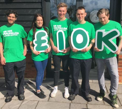 Anglian Country Inns raise over £20,000 for local charities