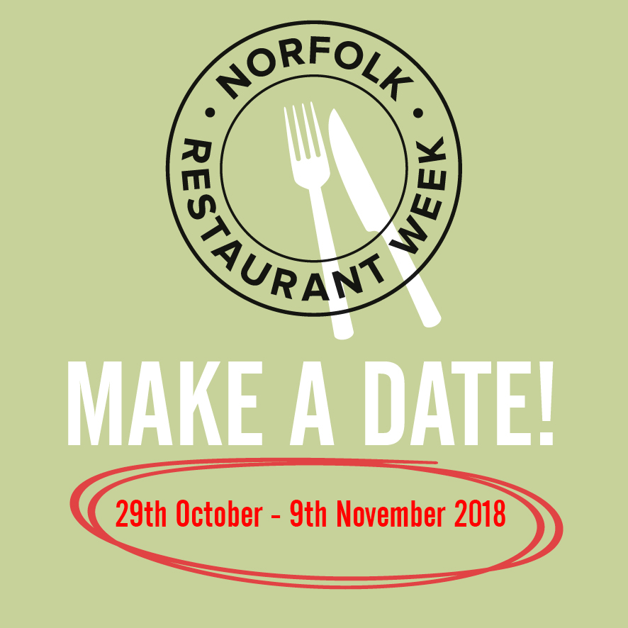 CELEBRATING NORFOLK RESTAURANT WEEK Monday 29th October to Friday 9th November (not weekend)