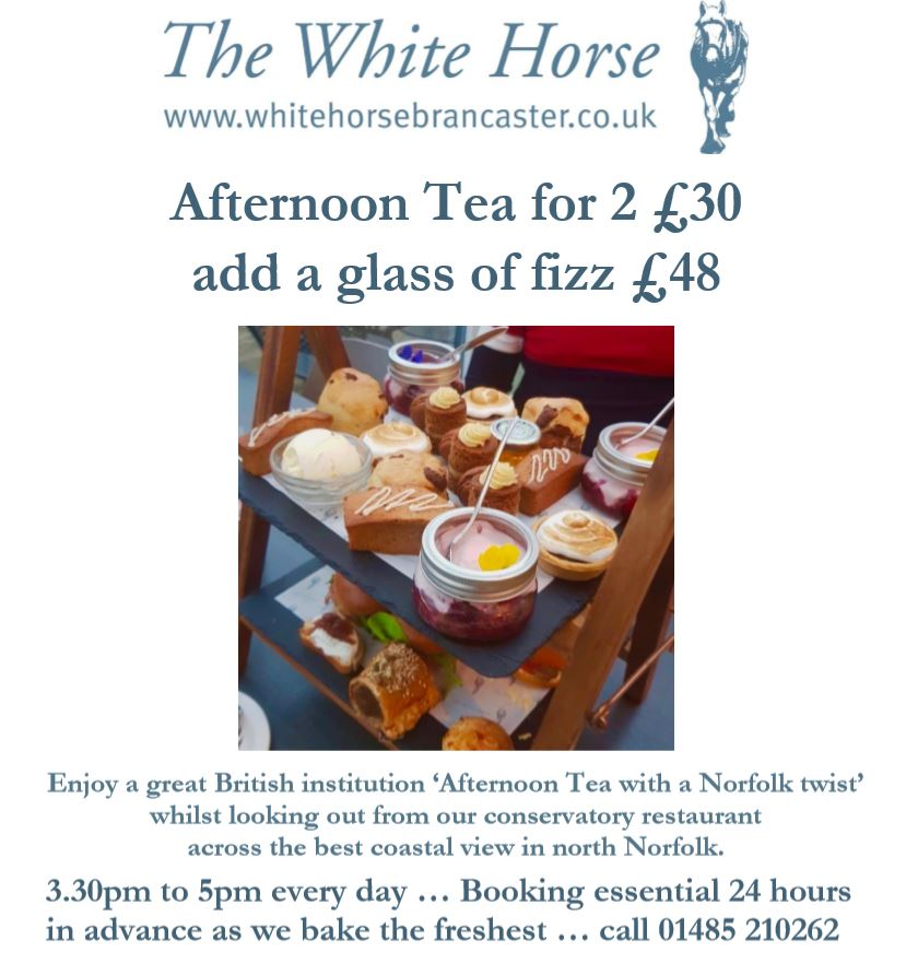 Afternoon Tea at The White Horse