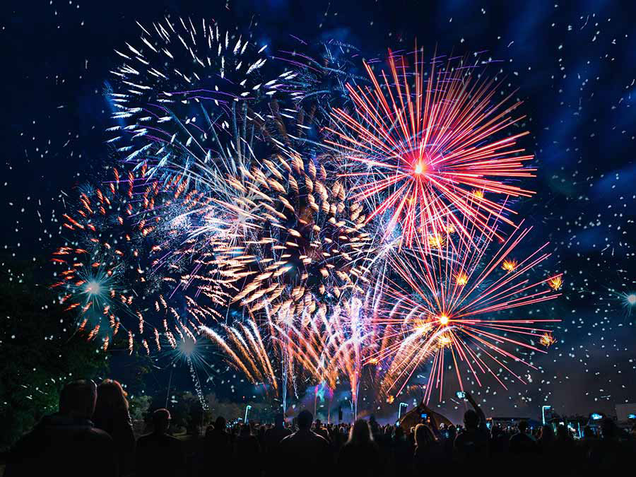 Firework Nights at The Cricketers