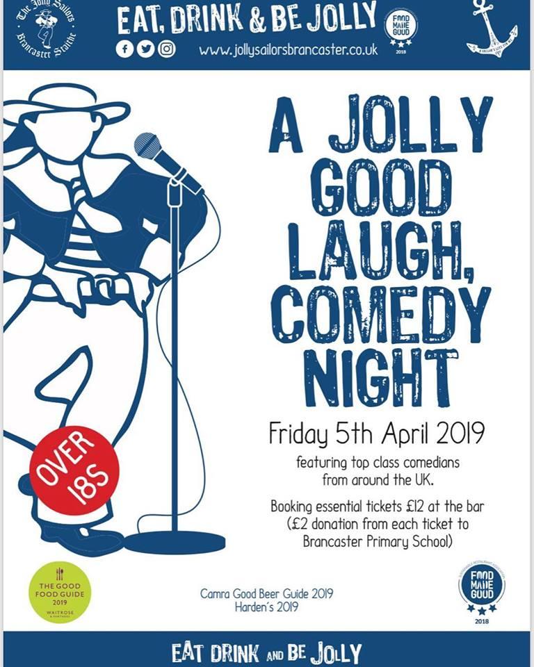 Comedy Night at The Jolly Sailors