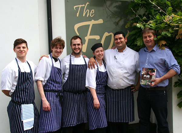 2 AA Rosettes for The Fox at Willian