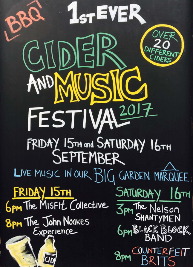 Cider and Music Festival 2017