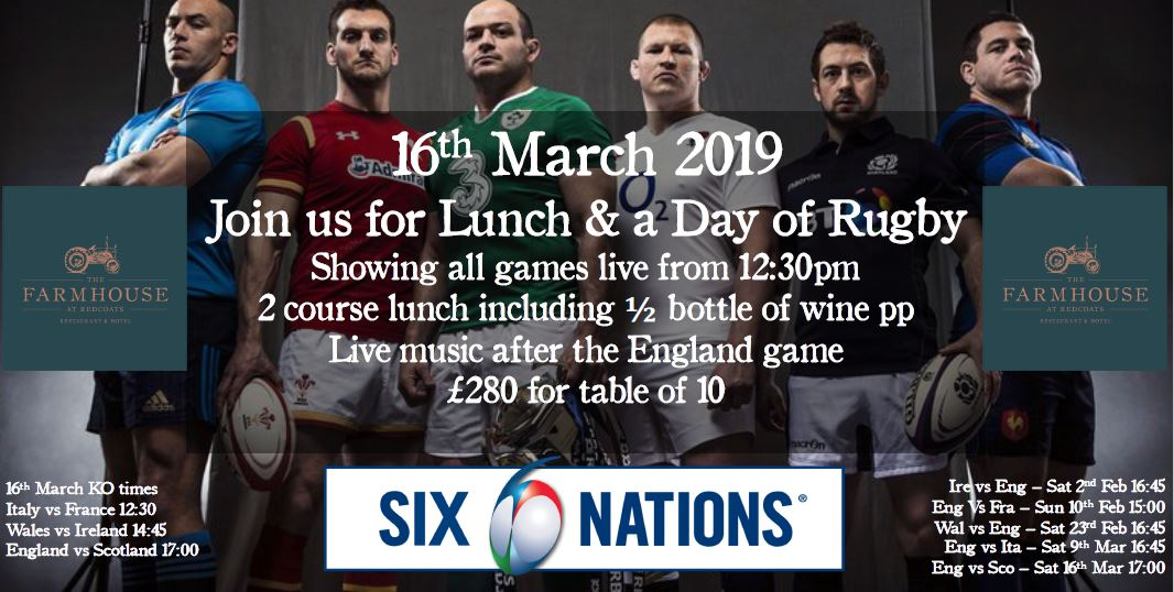 Enjoy the Six Nations in style