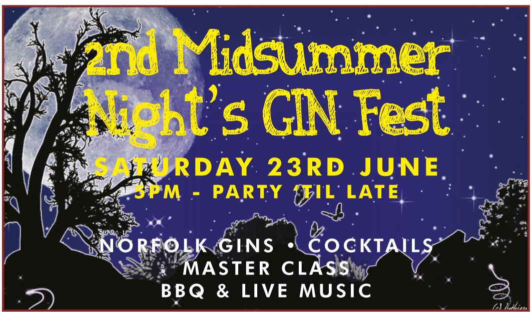 2nd Midsummer Gin Festival