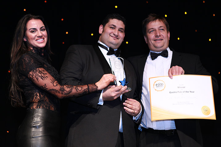 WINNER Gastropub of the Year Food Awards England and Wales 2014